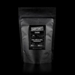 ohmyshot classic Espresso Verpackung
