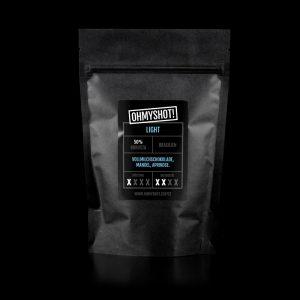 ohmyshot light Espresso Verpackung