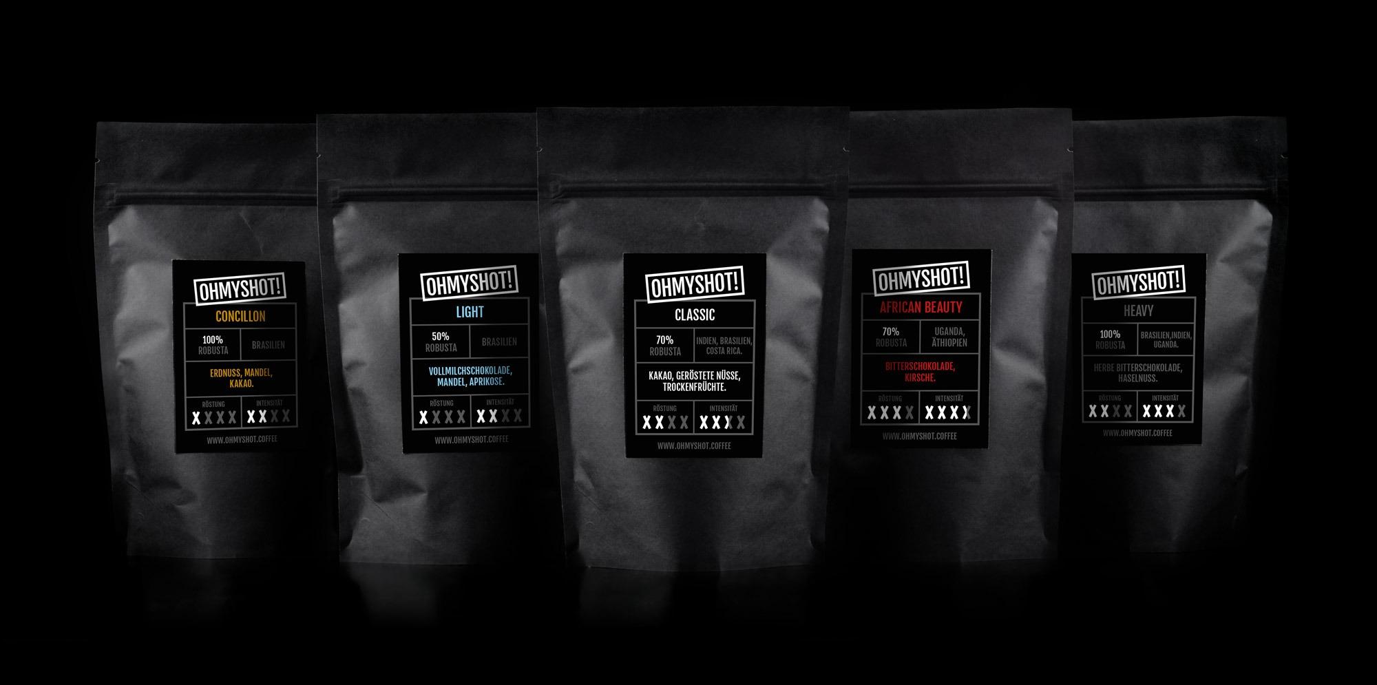 ohmyshot Espresso Probierpaket